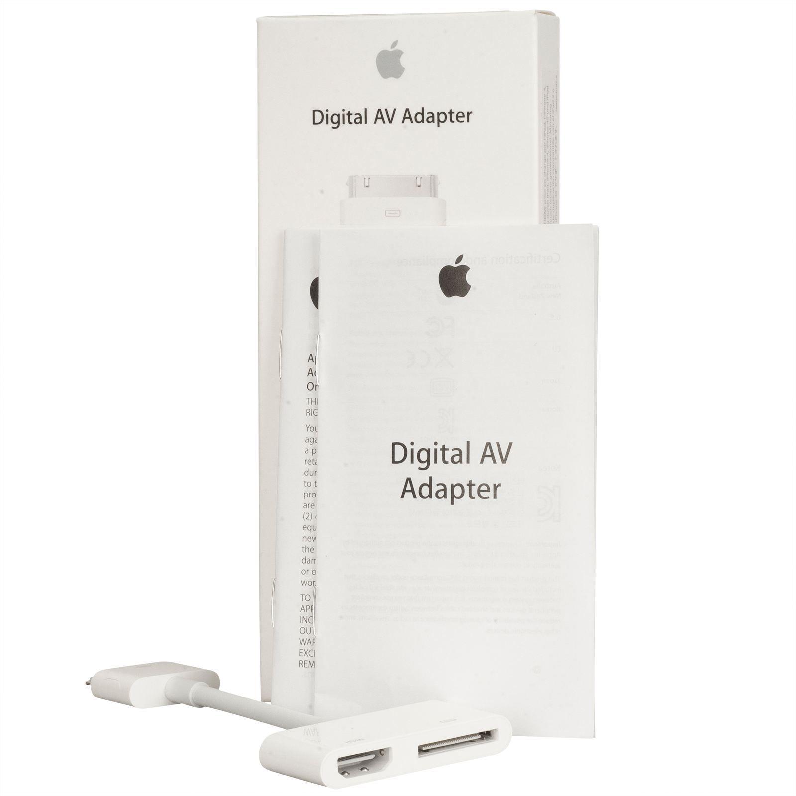 Genuine Apple Lightning Digital AV HDMI HDTV Adapter