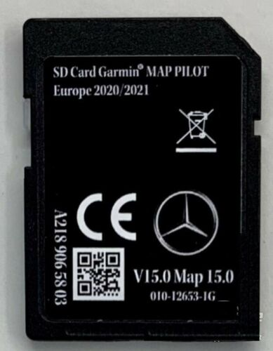 Mercedes-Benz SD Card Garmin Map Pilot 2020-2021 A2139064607