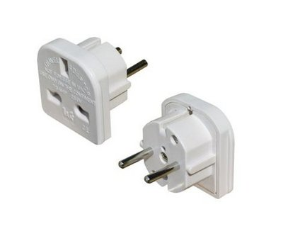 UK to Europe Charger Adaptor