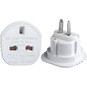 UK to USA, Canada, Australia Charger Adaptor