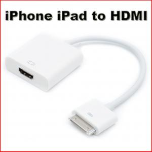 iphone to tv cable connector to hdmi tv adapter cable for 2 3 iphone 3060