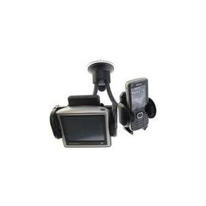 Twin Car Phone/Sat Nav Window Mount